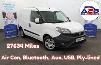 2016 FIAT DOBLO 1.3 16V SX MULTIJET  90 BHP   27634 Miles, Air Con, Bluetooth, Electric Pack and much more....  £6280.00