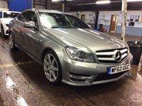 2012 MERCEDES-BENZ C CLASS 2.1 C220 CDI BLUEEFFICIENCY AMG SPORT 2d AUTO 170 BHP £8885.00