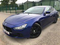 2014 MASERATI GHIBLI 3.0 DV6 4d AUTO 275 BHP ALLOYS SATNAV LEATHER CRUISE LOW MILES FSH A/C MOT 04/20 £18990.00