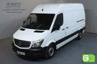 USED 2017 66 MERCEDES-BENZ SPRINTER 2.1 314CDI MWB HIGH ROOF 140 BHP EURO 6 MOT UNTIL 30/01/2020