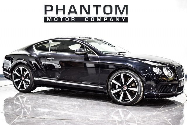 USED 2014 64 BENTLEY CONTINENTAL 4.0 GT V8 S 2d AUTO 521 BHP