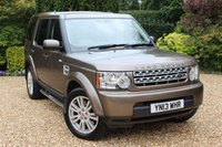 USED 2013 13 LAND ROVER DISCOVERY 3.0 4 SDV6 GS 5d 255 BHP 6 STAMPED SERVICES AND JUST SERVICED IN MAY 2020