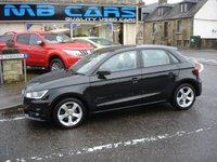 USED 2015 65 AUDI A1 1.6 SPORTBACK TDI SPORT 5d 114 BHP ONLY 17600 MILES FROM NEW,2 OWNERS,ZERO ROAD TAX.