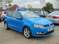 USED 2014 14 VOLKSWAGEN POLO 1.2 SEL TSI 3d 109 BHP * SAT NAV* DAB* PARKING AID* 6 SPEED* HUGE SPEC*