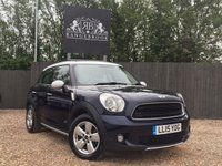USED 2015 15 MINI COUNTRYMAN 1.6 COOPER D ALL4 5dr Sat Nav, Cruise, Bluetooth