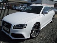 USED 2011 AUDI RS5 4.2 FSI QUATTRO 2DR S TRONIC + WING BACK BUCKET SEATS + FULL AUDI SERVICE HISTORY
