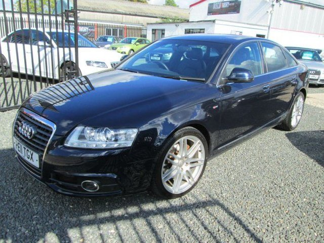 2011 11 AUDI A6 2.0 TDI S LINE SPECIAL EDITION 4d 168 BHP