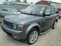 USED 2019 LAND ROVER RANGE ROVER SPORT 3.0 TDV6 HSE 5DR COMMANDSHIFT + FULL SERVICE HISTORY
