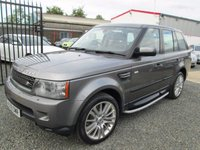 USED 2009 LAND ROVER RANGE ROVER SPORT 3.0 TDV6 HSE 5DR COMMANDSHIFT + FULL LAND ROVER SERVICE HISTORY