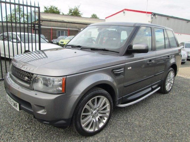 2009 LAND ROVER RANGE ROVER SPORT 3.0 TDV6 HSE 5DR COMMANDSHIFT + FULL LAND ROVER SERVICE HISTORY