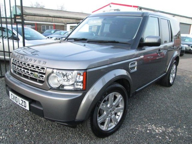 2010 10 LAND ROVER DISCOVERY 3.0 TDV6 GS 5DR AUTO + FULL LAND ROVER SERVICE HISTORY & 6 MONTH WARRANTY
