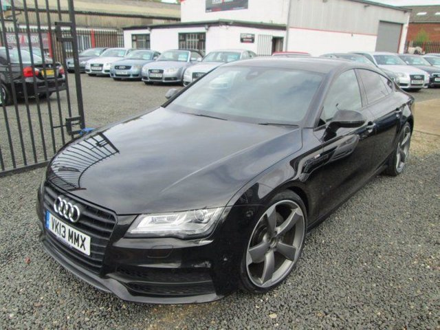 2013 AUDI A7 3.0 TDI QUATTRO BLACK EDITION 5DR TIP AUTO [5 SEAT] + 21INCH ALLOYS + HEAD UP DISPLAY + FSH