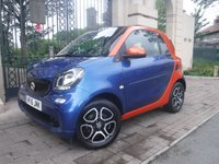 USED 2016 16 SMART FORTWO 1.0 PRIME 2d AUTO 71 BHP ****FINANCE ARRANGED****PART EXCHANGE WELCOME***1 OWNER*CRUISE*LEATHER*HEATED SEATS*BTOOTH*PAN ROOF