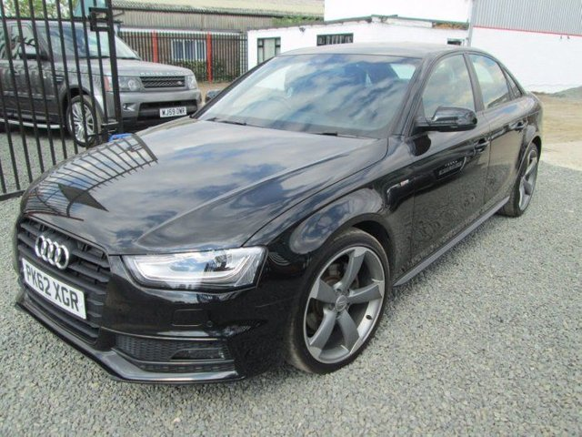 2012 62 AUDI A4 2.0 TDI 143 BLACK EDITION 4DR MULTITRONIC