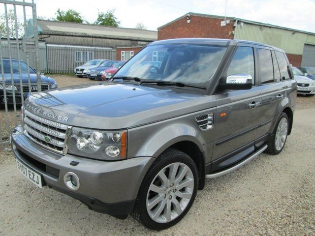 2007 07 LAND ROVER RANGE ROVER SPORT 3.6 TDV8 HSE 5DR AUTO + FULL SERVICE HISTORY