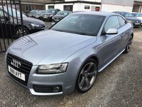 USED 2011 11 AUDI A5 2.0 TDI BLACK EDITION 2DR [START STOP] + LEATHER + SATNAV + PHONE + FULL AUDI SERVICE HISTORY