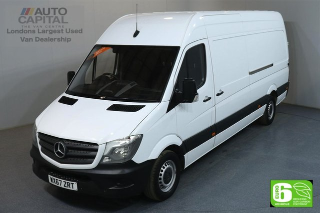 2017 67 MERCEDES-BENZ SPRINTER 2.1 314CDI 140 BHP LWB EURO 6 PARKTRONIC SYSTEM MANUFACTURER WARRANTY UNTIL 18/09/2020
