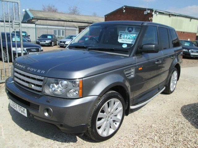 2007 LAND ROVER RANGE ROVER 3.6 TDV8 HSE 5DR AUTO + FULL RANGE ROVER SERVICE HISTORY