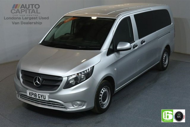 2018 18 MERCEDES-BENZ VITO 2.1 114 BLUETEC TOURER PRO XLWB 136 BHP MINIBUS £21,500+VAT, MANUFACTURE WARRANTY UNTIL 28/03/2021
