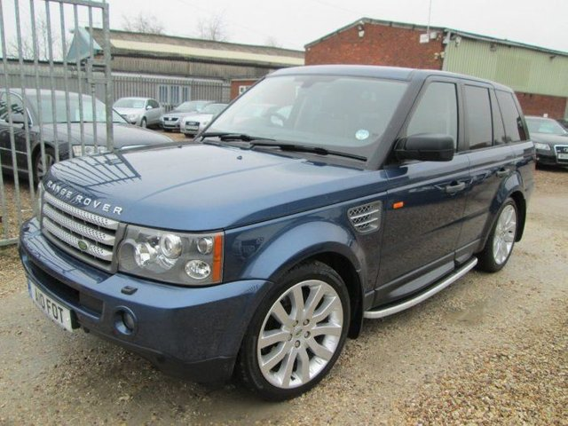 2007 LAND ROVER RANGE ROVER  3.6 TDV8 HSE 5DR AUTO + FULL SERVICE HISTORY
