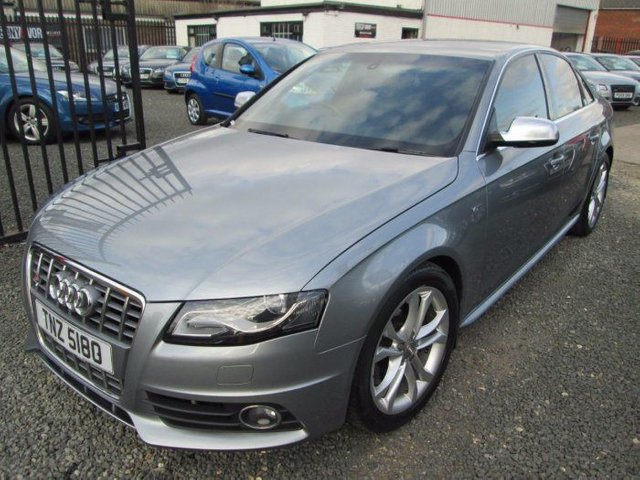 2009 AUDI A4 3.0 S4 TFSI QUATTRO 4DR S TRONIC + BLACK LEATHER + FULL SERVICE HISTORY