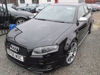 USED 2006 06 AUDI A4 4.2 RS 4 QUATTRO 4DR MANUAL + 3 OWNER FROM NEW + FULL SERVICE HISTORY