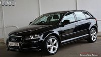 USED 2010 60 AUDI A3 1.6MPi SPORTBACK TECHNIK 5 DOOR 102 BHP Finance? No deposit required and decision in minutes.