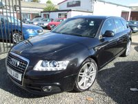 USED 2011 AUDI A6 2.0 TDI 170 S LINE SPECIAL EDITION LE MANS + SATNAV + PHONE + LEATHER + FULL AUDI SERVICE HISTORY