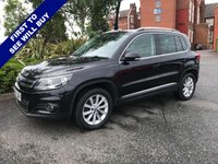 USED 2012 62 VOLKSWAGEN TIGUAN 2.0 SE TDI BLUEMOTION TECHNOLOGY 4MOTION 5d 138 BHP Stunning looks and drive