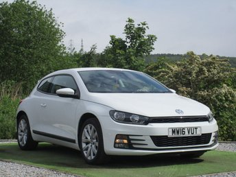 2016 VOLKSWAGEN SCIROCCO 1.4 TSI BLUEMOTION TECHNOLOGY 2d 123 BHP £12490.00