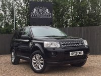 USED 2012 12 LAND ROVER FREELANDER 2 2.2 TD4 XS 5dr Sat Nav, Climate, Bluetooth