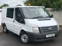 USED 2012 12 FORD TRANSIT 280 2.2 125 BHP LR CREW-CAB**CHOOSE FROM OVER 85 VANS**