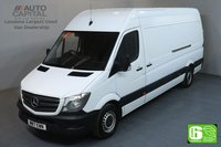 USED 2017 17 MERCEDES-BENZ SPRINTER 2.1 314CDI LWB HIGH ROOF 140 BHP PARKTRONIC EURO 6 PARKTRONIC FRONT-REAR PARKING SENSORS