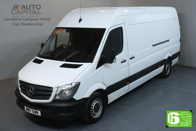 2017 17 MERCEDES-BENZ SPRINTER 2.1 314CDI LWB HIGH ROOF 140 BHP PARKTRONIC EURO 6 PARKTRONIC FRONT-REAR PARKING SENSORS
