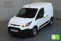 USED 2017 17 FORD TRANSIT CONNECT 1.5 220 L1 H1 SWB 100 BHP EURO 6 MANUFACTURER WARRANTY UNTIL 26/06/2020