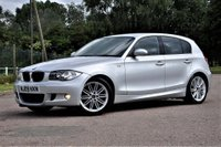 USED 2009 09 BMW 1 SERIES 2.0 118d M Sport 5dr ONLY £30 TAX Mspec