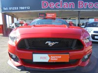 USED 2016 S FORD MUSTANG 5.0 GT Fastback 3dr TWO KEYS-FULL SERVICE HISTORY