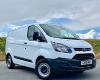 USED 2018 18 FORD TRANSIT CUSTOM 2.0 TDCI 290 L2H3 Panel Van  2018 CUSTOM!  ONE OWNER! MINT!