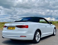 USED 2017 67 AUDI A5 2.0 TDI Sport Cabriolet S Tronic (s/s) 2dr LOW MILES! SAT NAV! MEDIA!