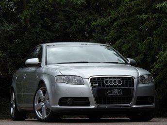 2007 AUDI A4 2.0 TDI S LINE TDV 4d AUTO 140 BHP £6290.00