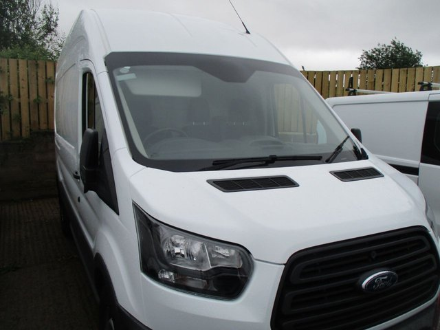 2017 67 FORD TRANSIT 2.0 350 L3 H3 130 BHP TURBO DIESEL LWB HI ROOF WITH AIR CON