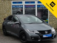 USED 2016 65 HONDA CIVIC 1.6 I-DTEC SPORT NAVI Turbo Diesel 5 Dr