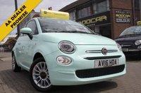 2016 FIAT 500 1.2 POP STAR 3d 69 BHP £6995.00