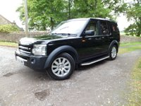 USED 2006 06 LAND ROVER DISCOVERY 2.7 3 TDV6 SE 5d AUTO 188 BHP FANTATSIC CONDITION. MAINTAINED REGARDLESS OF COST. SAT NAV. BLUETOOTH. FRIDGE. RECENT TIMING BELT. 4 EXCELLENT TYRES. CHEAP ROAD TAX MODEL