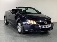 USED 2009 N VOLKSWAGEN EOS 1.4 SE TSI 2d 121 BHP TOP SPEC AND VERY ECONOMICAL MOTOR