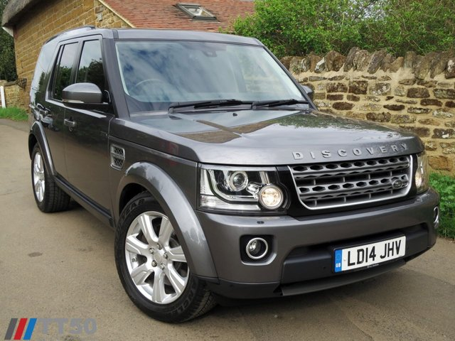 2014 14 LAND ROVER DISCOVERY 3.0 SDV6 XS 5d AUTO 255 BHP. HIGH SPEC !! INCLUDES VAT