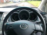 USED 2007 07 LEXUS RX 3.5 350 LTD EDITION 5d AUTO 273 BHP LEATHER TRIM *   PARKING AID *  18 INCH ALLOYS *   PRIVACY GLASS *  FULL YEAR MOT *
