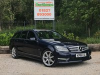 USED 2011 61 MERCEDES-BENZ C CLASS 2.1 C220 CDI BLUEEFFICIENCY SPORT ED125 5dr AUTO Sat Nav, Leather, PDC
