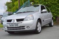 2006 RENAULT CLIO 1.1 CAMPUS SPORT 16V 3d 75 BHP £SOLD