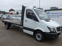 USED 2016 65 MERCEDES-BENZ SPRINTER 316 CDI LWB DROPSIDE, 160 BHP [EURO 5]